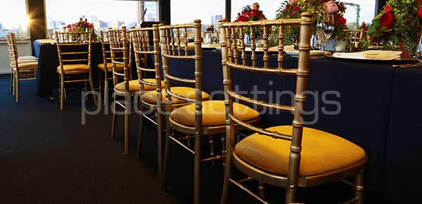 Get best quality tiffany chair for hire in melbourne