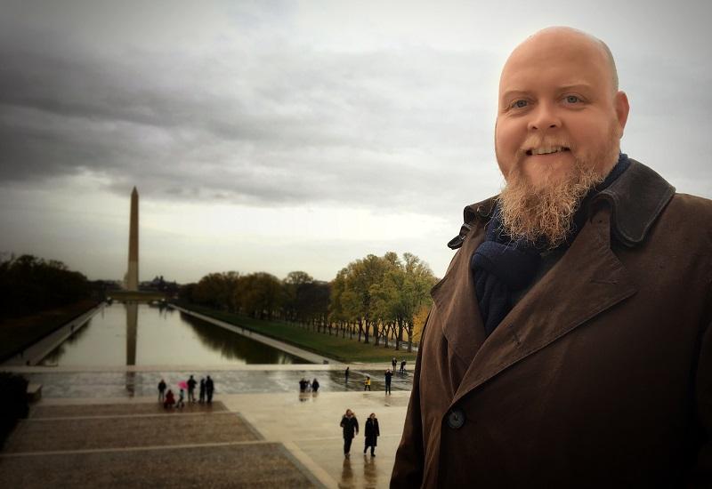 Enterprise Screen co-founder Jamie Smith in Washington DC