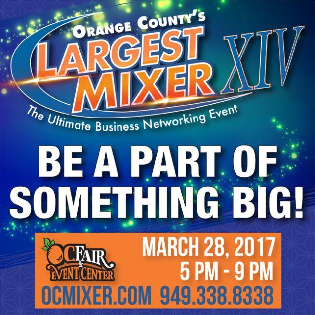 Orange County's Largest Mixer 2017