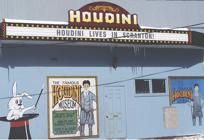 Houdini Museum Front Marquee