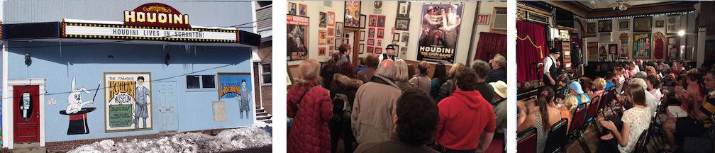 Houdini Museum visitation.
