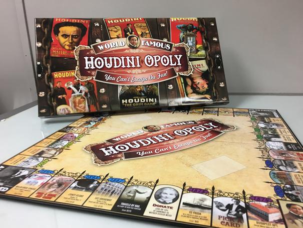 HoudiniOpoly Game Board and Box