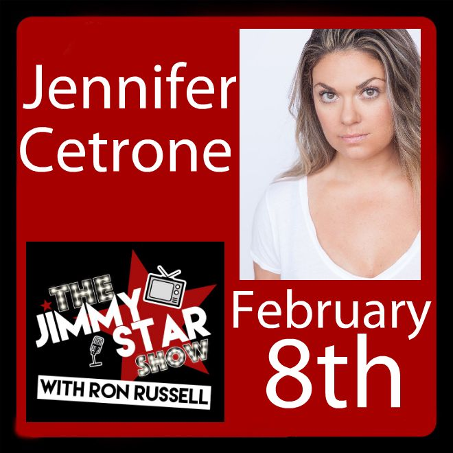Jennifer Cetrone On The Jimmy Star Show With Ron Russell