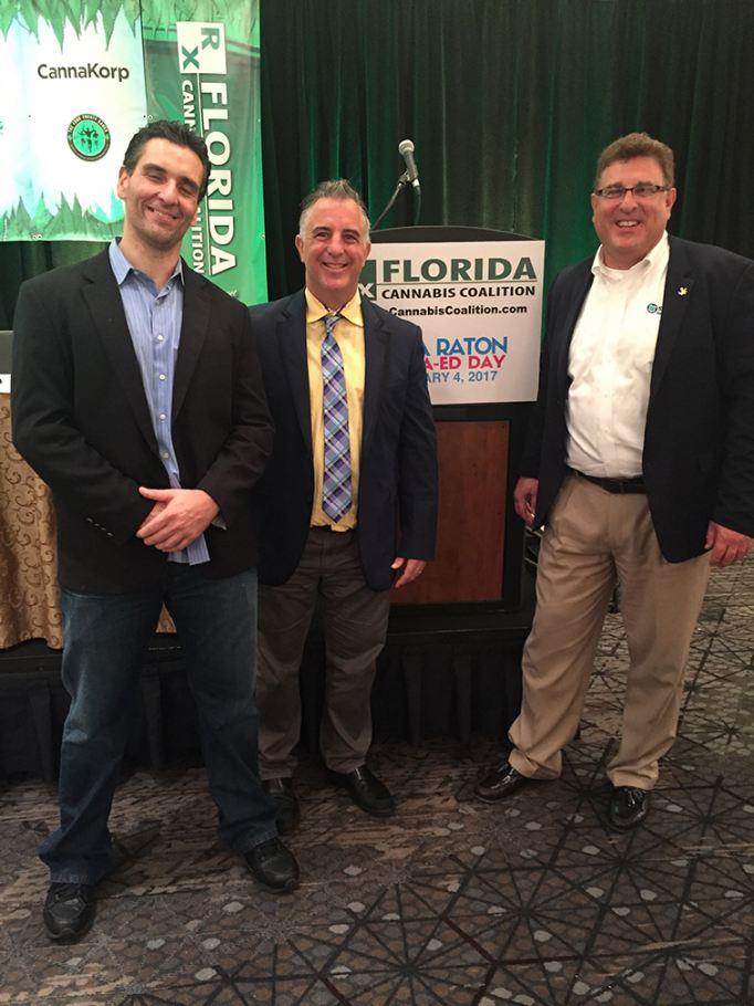 Left to Right: Pete Sessa, Tom Quigley, and Tony Gallo. Photo Credit: Tony Gallo