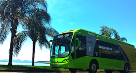 Hydrogen Fuel Cell Bus in Rio