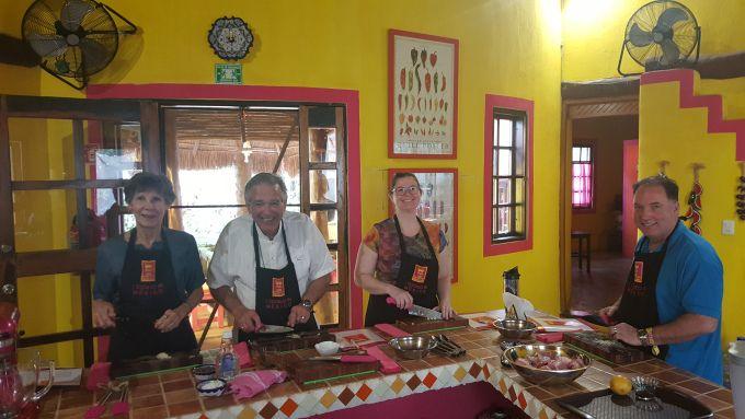 Enjoy a self made fiesta at Mexico Lindo Cooking