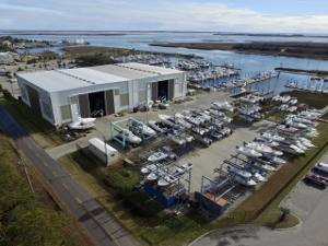 Southport Marina Opens Phase 2 Of Dry Storage Boat