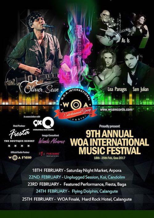 9th Annual WOA Music Festival - Goa 2017