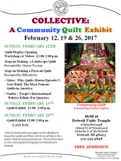 Quilt Exhibit 2017