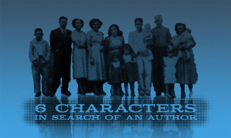 illusion and reality in six characters in search of an author It was six characters  six characters in search of an author six characters begins in a theatre with a rehearsal in is destined to seem mere illusion to you.