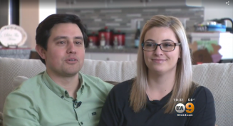 The Esquer family talked to CBS LA about their decsion to buy a Next Gen® home.