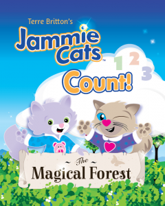 Jammie Cats Count! The Magical Forest