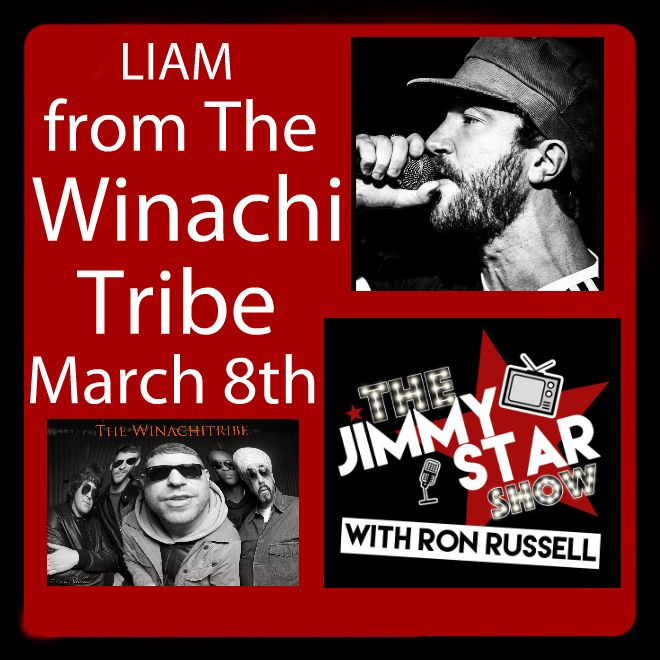 Liam Croker From The Winachi Tribe on The Jimmy Star Show With Ron Russell