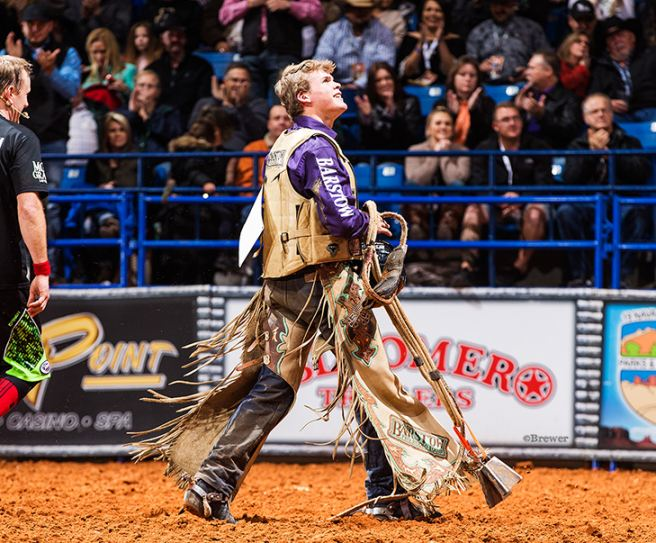 Crockett High School Senior Boudreaux Campbell to compete at Lufkin Bull Bash