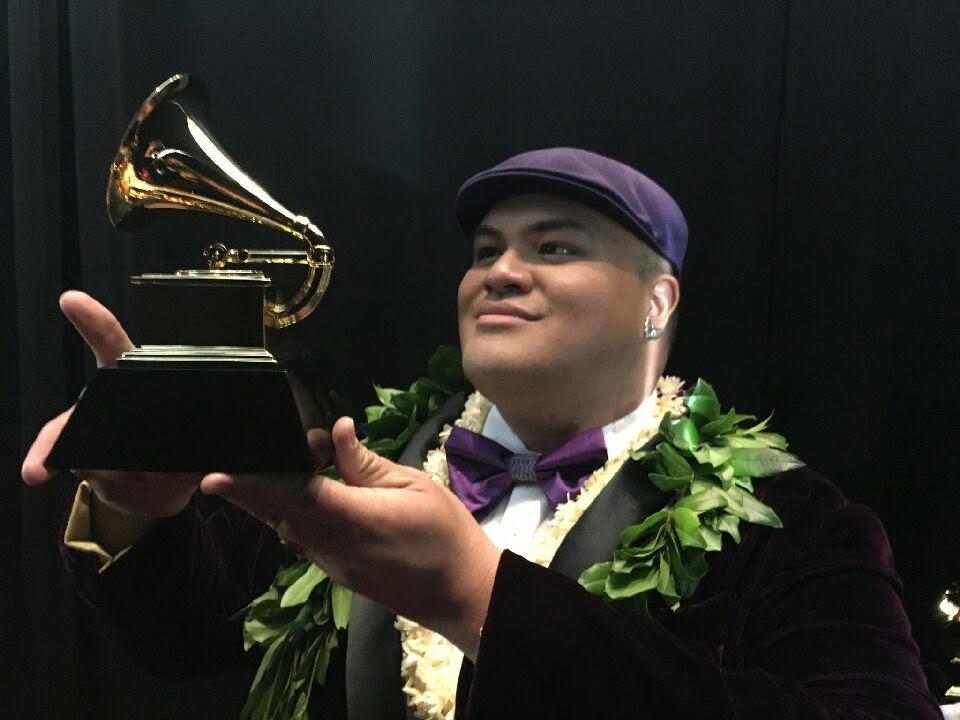 Kalani Pe'a Grammy win photo