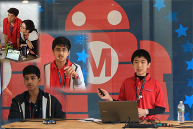 Tech Talk Presented by Advanced Students at MakerFaire