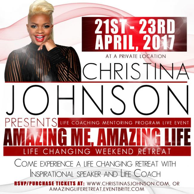 Christina Johnson Event