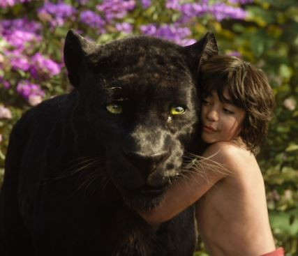 Mowgli & Bagheera, The Jungle Book