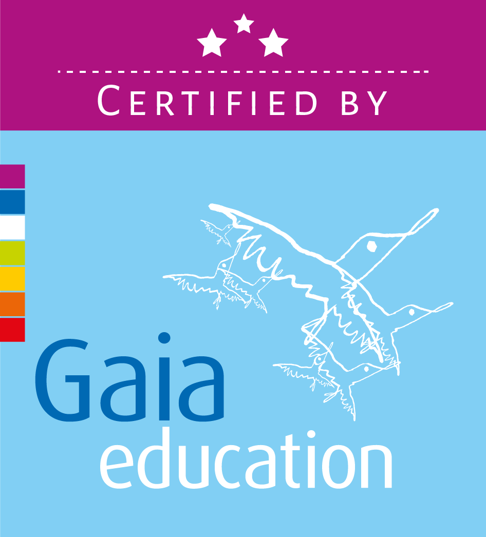 Gaia Education Certification Stamp