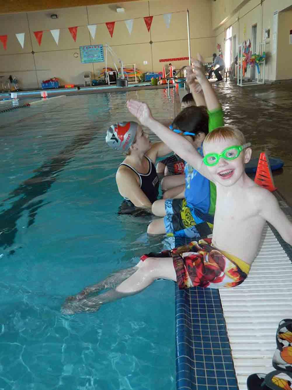 Simi Valley YMCA swim class.