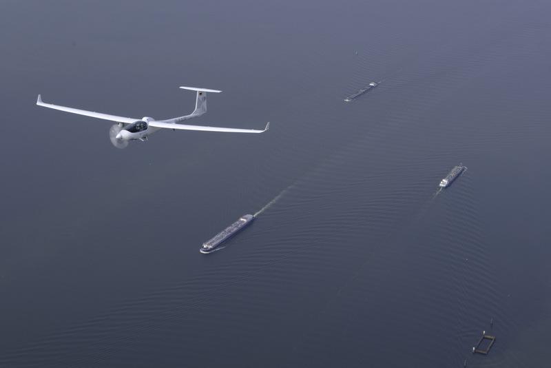 Ecarys ES15 utility aircraft on maritime patrol