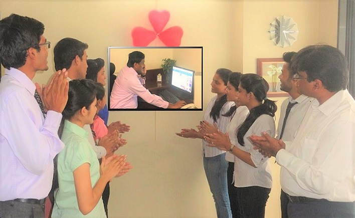 TULSites witnessing launch of new website at the hands of Mr. Hari Kishore