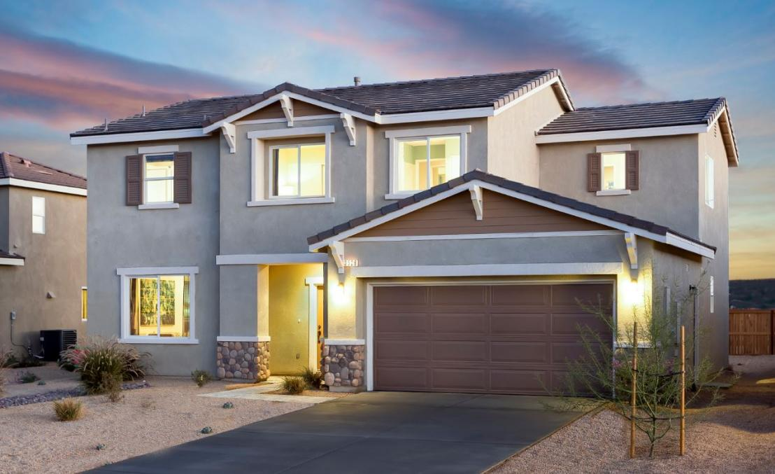 Asher Ranch Plan 2 in Rosamond, CA.