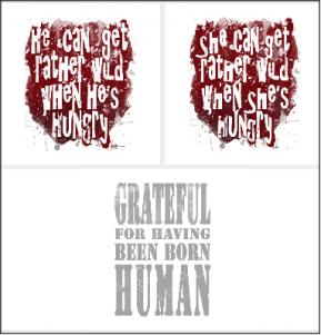 Quotations from Wilkie Martin's unhuman cozy mysteries on unhuman.threadless.com