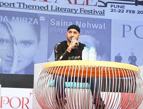 Harbhajan Singh Speaking during SporTale - A Sport