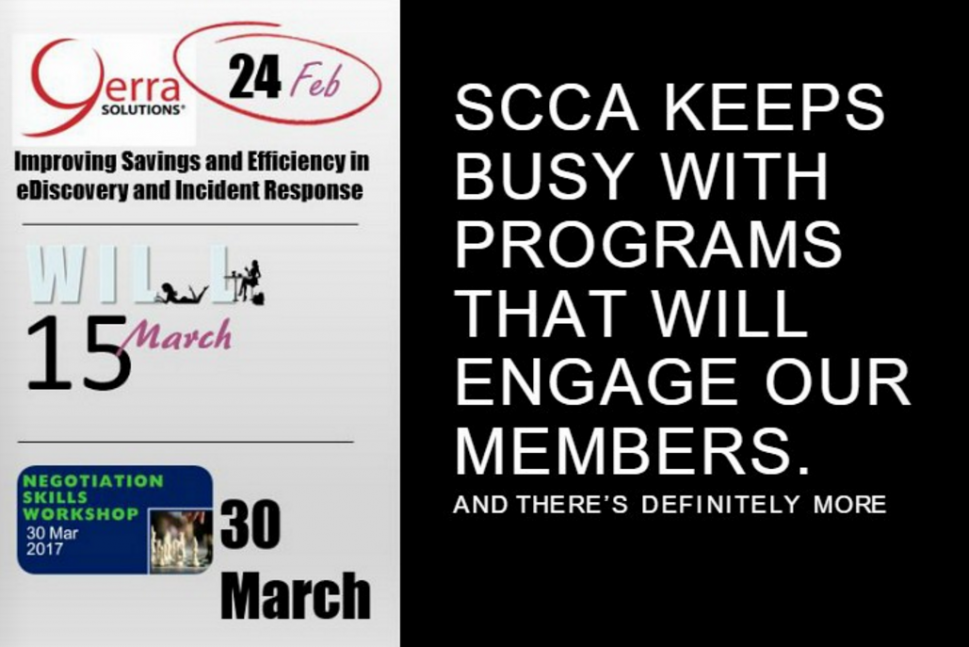 Yerra is proud to support SCCA!