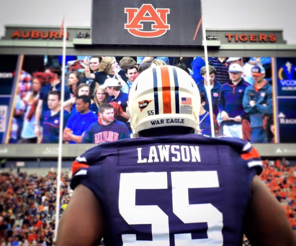 CARL LAWSON | AUBURN #55