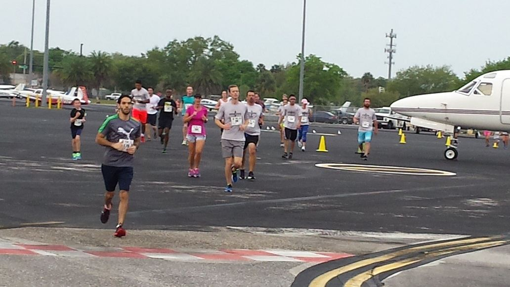 Orlando Executive Airport hosts the Run for the Angels 5K.