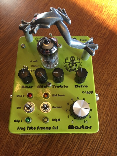 Frog Fx1 Guitar Tube Preamplifier