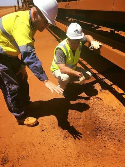 Analysing the Pilbara's red dust