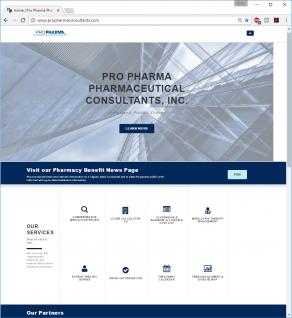 Pro Pharma's Website