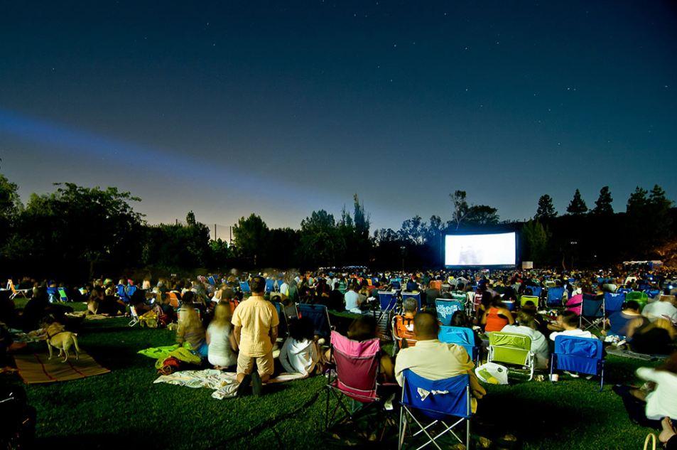 Eat See Hear outdoor movie screening