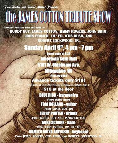 James Cotton Tribute