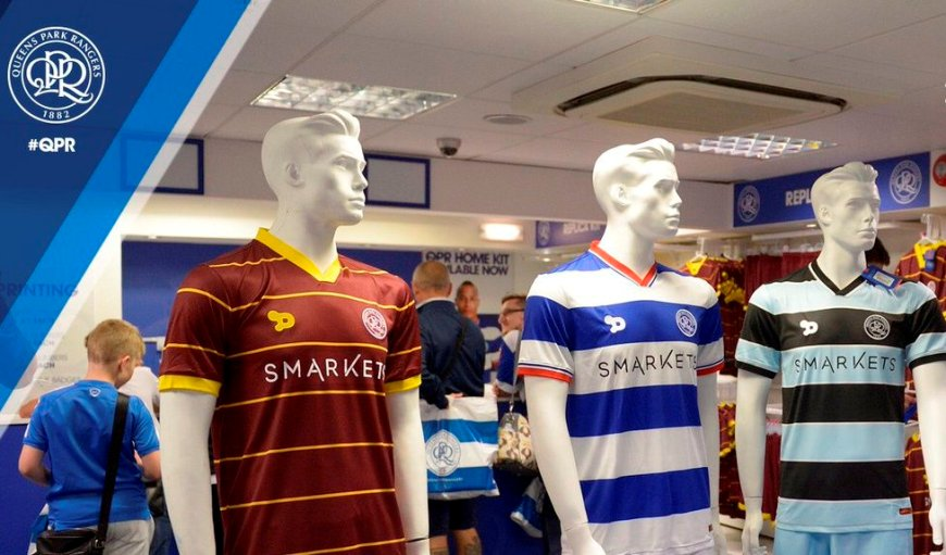 Queen's Park Rangers Kit (c) Back Page Photography