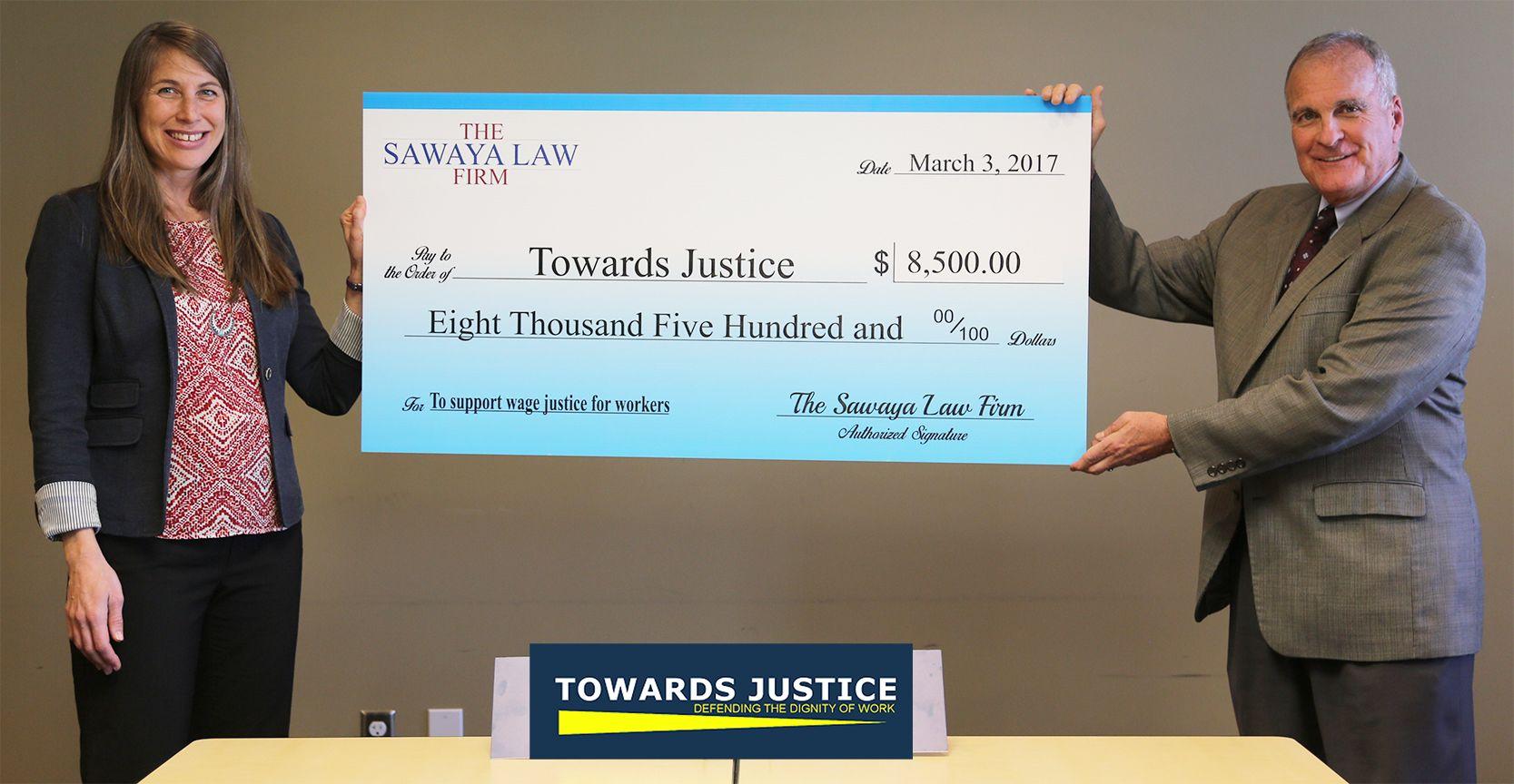 Sawaya Law Firm - Towards Justice