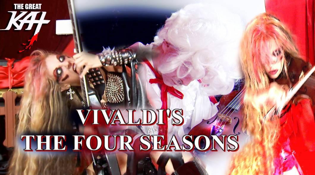 Happy 339th Birthday Vivaldi! Celebrate with Great Kat Vivaldi The Four Seasons