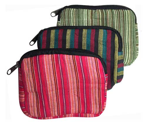 New Colors - Handcrafted Nepalese Cotton Pouches