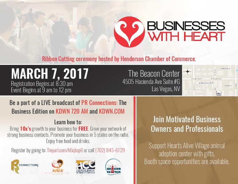 Businesses With Heart Networking Events