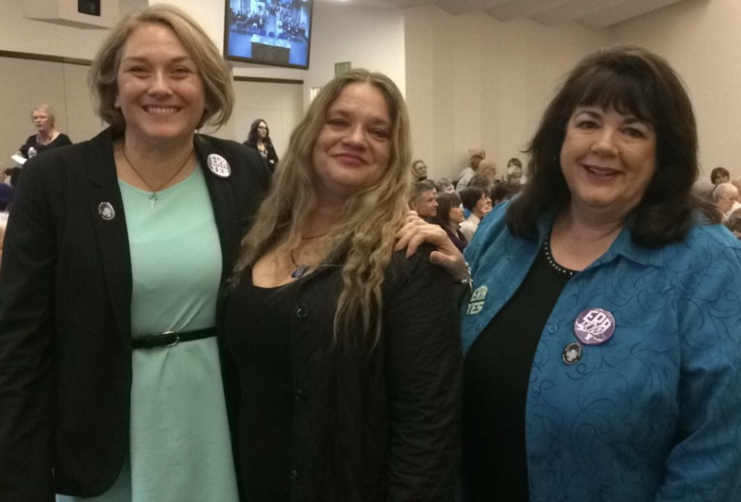 Swanson of Katrina's Dream testifies at Senate hearing for Nevada to ratify ERA