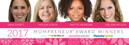2017 Mompreneur Award Winners www.themompreneur.com