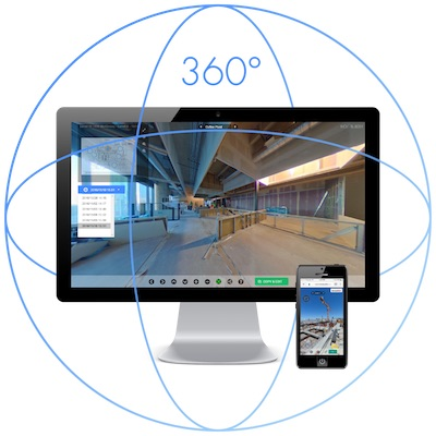 HoloBuilder-capture and view construction sites in 360° on almost any device