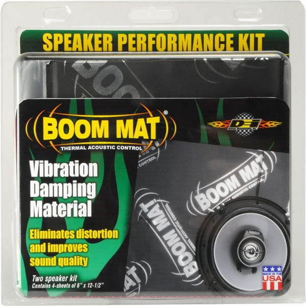 Boom Mat Speaker Performance Kit Now Available at AutoZone