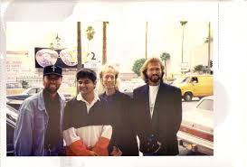 Beegees with Mahmood khan