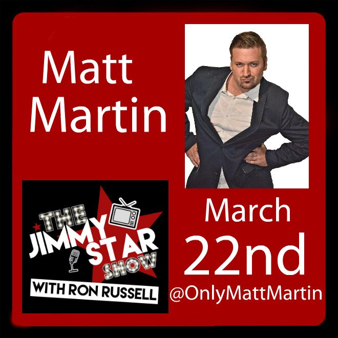 Matt Martin On The Jimmy Star Show With Ron Russell