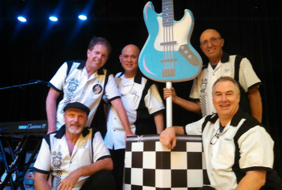 The 8 Tracks band performs twice in March.