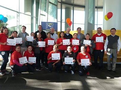Hello and Congrats to the First Ever USGBC Green Trained Custodians at Oracle